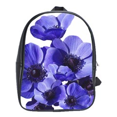 Poppy Blossom Bloom Summer School Bags(large)  by Nexatart