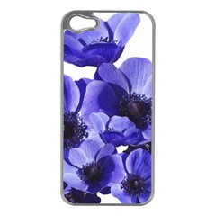 Poppy Blossom Bloom Summer Apple Iphone 5 Case (silver)