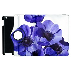 Poppy Blossom Bloom Summer Apple Ipad 2 Flip 360 Case by Nexatart