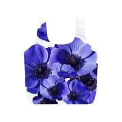 Poppy Blossom Bloom Summer Full Print Recycle Bags (s)