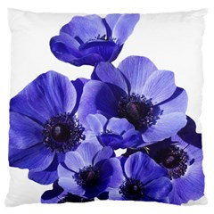 Poppy Blossom Bloom Summer Standard Flano Cushion Case (two Sides) by Nexatart