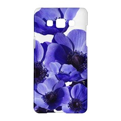 Poppy Blossom Bloom Summer Samsung Galaxy A5 Hardshell Case  by Nexatart
