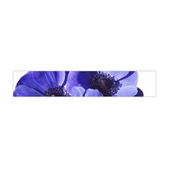 Poppy Blossom Bloom Summer Flano Scarf (mini)