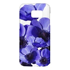 Poppy Blossom Bloom Summer Samsung Galaxy S7 Edge Hardshell Case