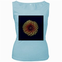 Art Beautiful Bloom Blossom Bright Women s Baby Blue Tank Top