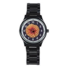 Art Beautiful Bloom Blossom Bright Stainless Steel Round Watch by Nexatart