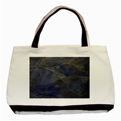 Textures Sea Blue Water Ocean Basic Tote Bag (two Sides)