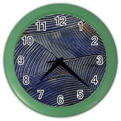 Textures Sea Blue Water Ocean Color Wall Clocks
