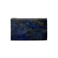 Textures Sea Blue Water Ocean Cosmetic Bag (small)  by Nexatart