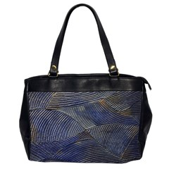 Textures Sea Blue Water Ocean Office Handbags (2 Sides)  by Nexatart