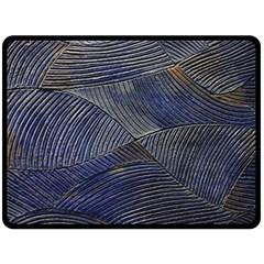 Textures Sea Blue Water Ocean Fleece Blanket (large)