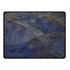 Textures Sea Blue Water Ocean Fleece Blanket (small) by Nexatart