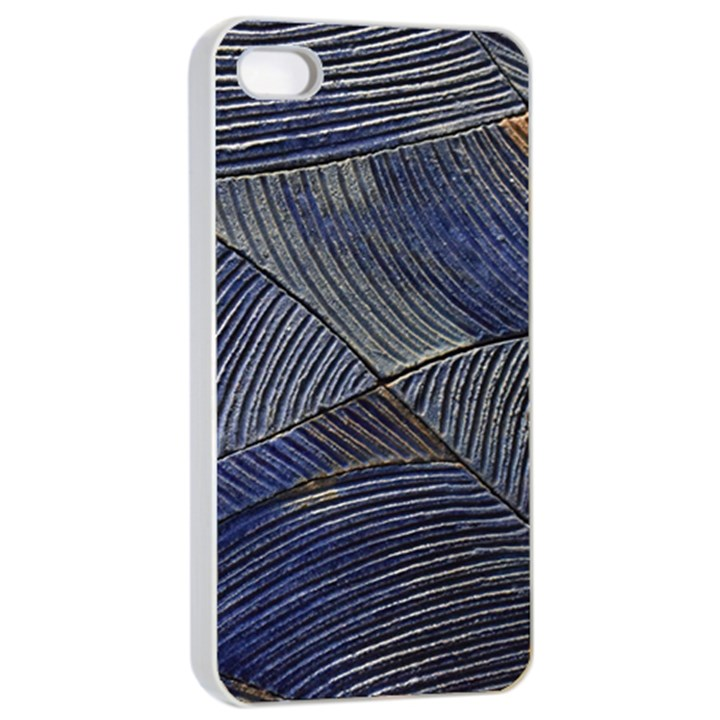 Textures Sea Blue Water Ocean Apple iPhone 4/4s Seamless Case (White)