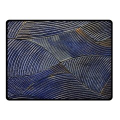 Textures Sea Blue Water Ocean Double Sided Fleece Blanket (small)