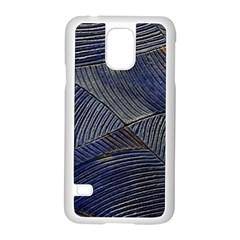 Textures Sea Blue Water Ocean Samsung Galaxy S5 Case (white)