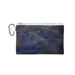 Textures Sea Blue Water Ocean Canvas Cosmetic Bag (s) by Nexatart