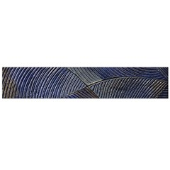 Textures Sea Blue Water Ocean Flano Scarf (large)