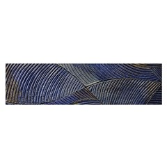 Textures Sea Blue Water Ocean Satin Scarf (oblong)