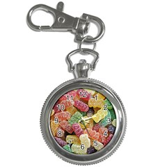 Jelly Beans Candy Sour Sweet Key Chain Watches by Nexatart