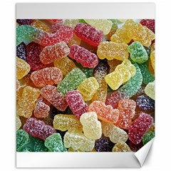 Jelly Beans Candy Sour Sweet Canvas 8  X 10