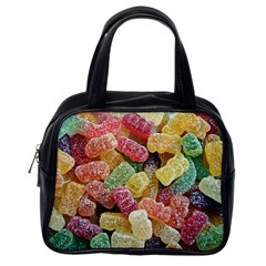 Jelly Beans Candy Sour Sweet Classic Handbags (one Side)