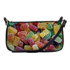 Jelly Beans Candy Sour Sweet Shoulder Clutch Bags by Nexatart