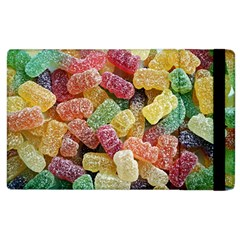 Jelly Beans Candy Sour Sweet Apple Ipad 3/4 Flip Case by Nexatart