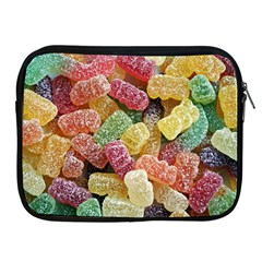 Jelly Beans Candy Sour Sweet Apple Ipad 2/3/4 Zipper Cases by Nexatart