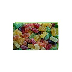 Jelly Beans Candy Sour Sweet Cosmetic Bag (xs) by Nexatart