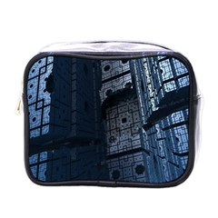 Graphic Design Background Mini Toiletries Bags