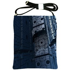 Graphic Design Background Shoulder Sling Bags by Nexatart