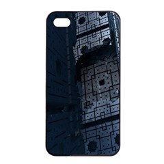 Graphic Design Background Apple Iphone 4/4s Seamless Case (black)