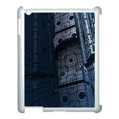 Graphic Design Background Apple Ipad 3/4 Case (white)