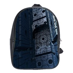 Graphic Design Background School Bags (xl)  by Nexatart