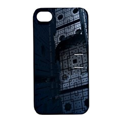 Graphic Design Background Apple Iphone 4/4s Hardshell Case With Stand by Nexatart