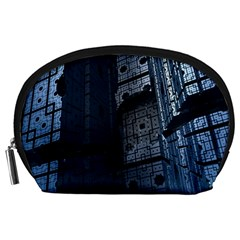 Graphic Design Background Accessory Pouches (large)  by Nexatart