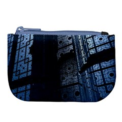 Graphic Design Background Large Coin Purse by Nexatart