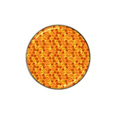 Honeycomb Pattern Honey Background Hat Clip Ball Marker (10 Pack)