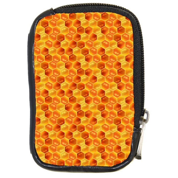 Honeycomb Pattern Honey Background Compact Camera Cases