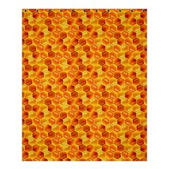 Honeycomb Pattern Honey Background Shower Curtain 60  X 72  (medium)  by Nexatart
