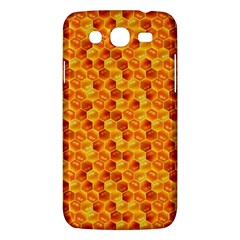 Honeycomb Pattern Honey Background Samsung Galaxy Mega 5 8 I9152 Hardshell Case