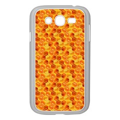 Honeycomb Pattern Honey Background Samsung Galaxy Grand Duos I9082 Case (white)