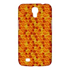 Honeycomb Pattern Honey Background Samsung Galaxy Mega 6 3  I9200 Hardshell Case by Nexatart