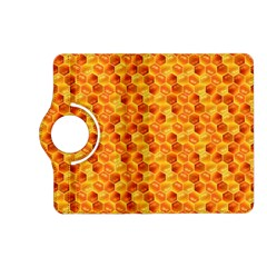Honeycomb Pattern Honey Background Kindle Fire Hd (2013) Flip 360 Case by Nexatart