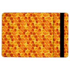 Honeycomb Pattern Honey Background Ipad Air 2 Flip