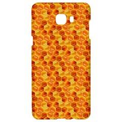 Honeycomb Pattern Honey Background Samsung C9 Pro Hardshell Case  by Nexatart