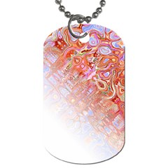 Effect Isolated Graphic Dog Tag (one Side)