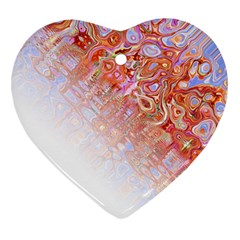 Effect Isolated Graphic Heart Ornament (two Sides)