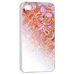Effect Isolated Graphic Apple Iphone 4/4s Seamless Case (white) by Nexatart