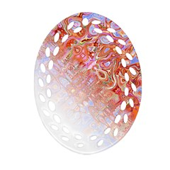 Effect Isolated Graphic Oval Filigree Ornament (two Sides) by Nexatart